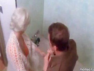 mommy son washroom fantasy
