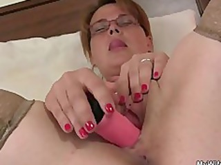 he finds her masturbating and offers his knob