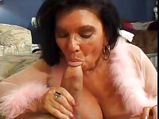 hairy old doxy arse fucked