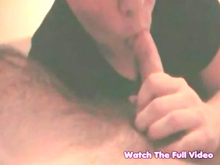 wife suck and give cook jerking