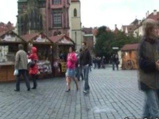 tourist granny acquires humped