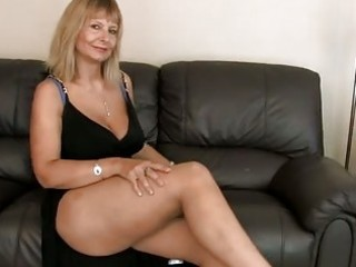 busty aged fingering her hairy cum-hole