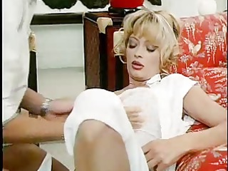 classic porn - milf in nylons