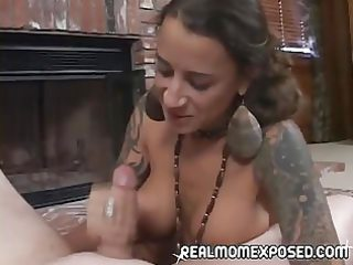 your mother is a cocksucking tattoed freak