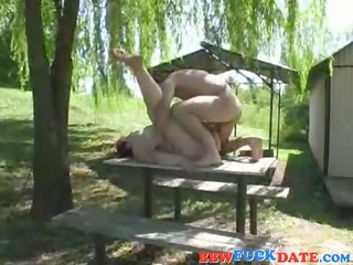 fat mature woman receive fucked by skinny young