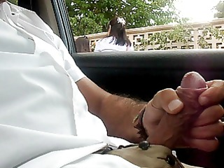 flashing dickflash public masturbation in my car