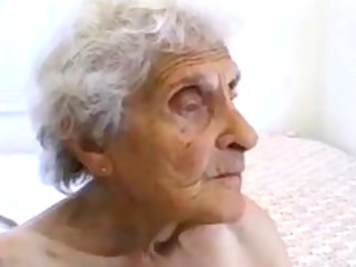 unsightly old granny gets fucked