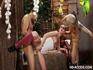messy whore brandi lyons wildest group sex