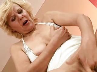 lustful granny enjoys hard sex