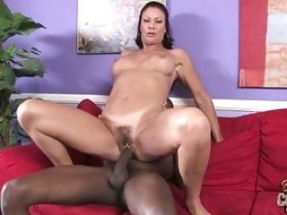 tanned aged dark brown gets biggest black cock up