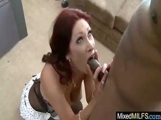 milf like darksome dick inside her cookie