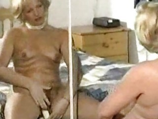 hairy mature slow tease and sex-toy play