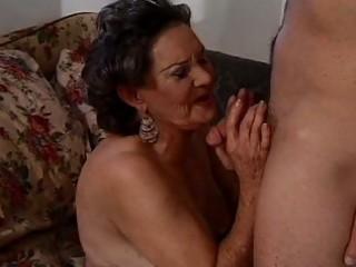 brunette granny craves hairy natural orgasms