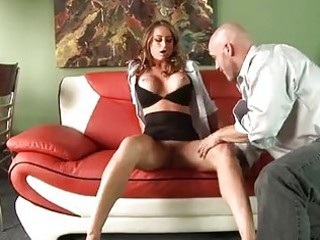 filthy milf honey west reaching her throat on a