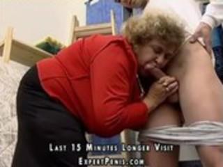 lascivious fat granny screwed in her fur pie
