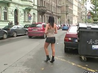 juvenile man bangs old prostitute