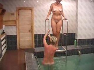 russian sluts screwed in sauna