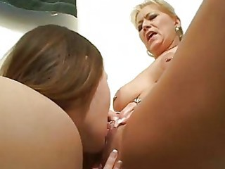 wicked lesbo learns from aged lesbo