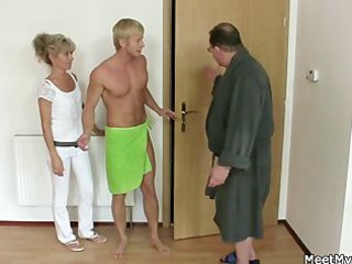 his mommy and daddy tricks her into sex