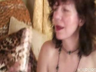 granny gal gets a gift from her young hunk and