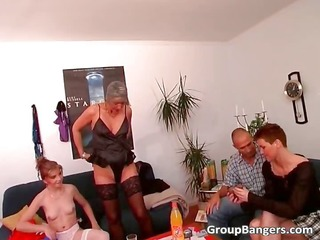 abode party become dissolute group banging part0