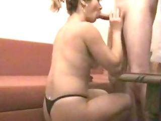 wife in pants sensual bj episode