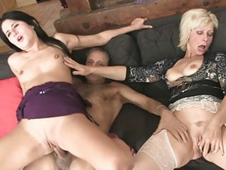 mommy licks daughters pussy during the time that