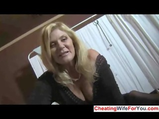 hot milf gives great tugjob