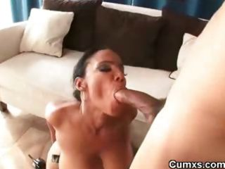 chocolate charming swarthy milf fucked