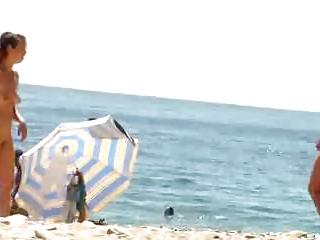 nudist beach perv 11 milf stripping