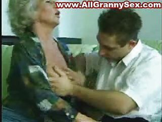 88 years old granny fucked