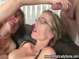 older lady sonia fuck facial