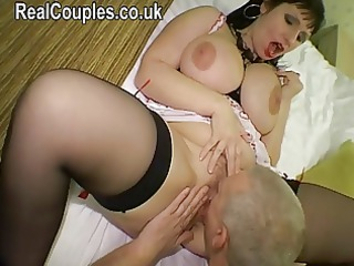 big breasty housewife gets ass screwed