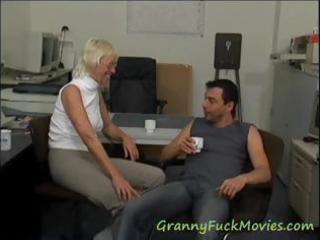 see hot granny porn