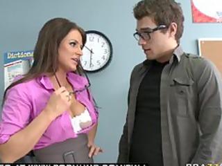 big tit brunette mother i pornstar teacher blows