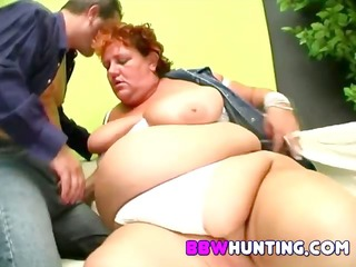 massive chunky pussy finger screwed