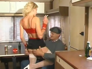 cheap french hooker drilled & sprayed by an