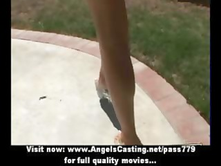 blonde d like to fuck with laptop toying slit and
