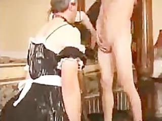 sissy spouse sucks cock for wife bdsm slavery