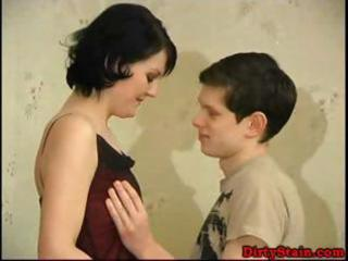 mature wife drilled by youthful lad