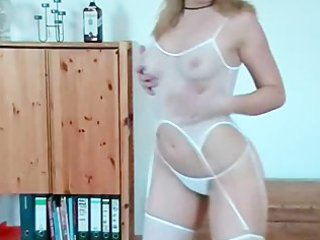 sexy dancing and stripping euro wife