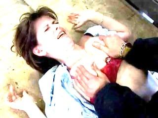 mature milf raped
