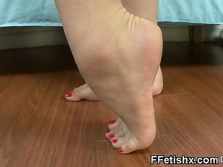 gore foot fetish sex for marvelous cutie