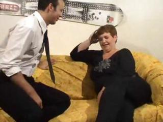mature big dutch slut gets fingered and fucked in
