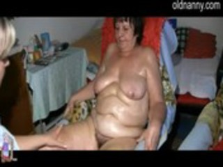 granny and hotty in daybed