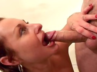 excited milf fucks youthful fellows
