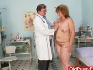 hairy fat mommy gets harrassed by gynecologist