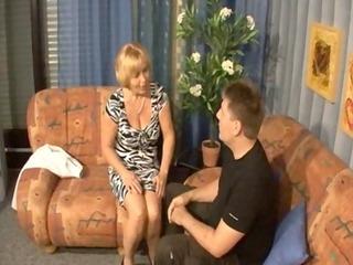 german mother - son - mutti und sohn