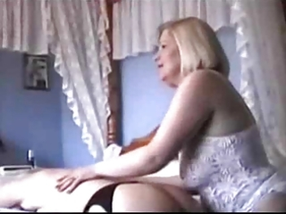 grannies in lingerie and nylons
