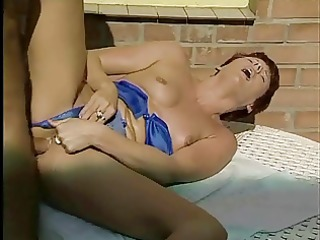 mum likes cock, fist in ass &; pussy spunked